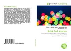 Bookcover of Buick Park Avenue