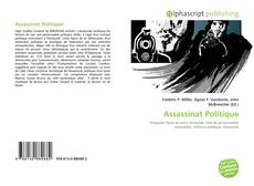Buchcover von Assassinat Politique