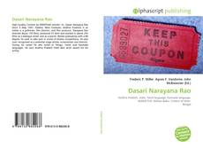 Bookcover of Dasari Narayana Rao