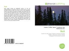 Capa do livro de Nuit