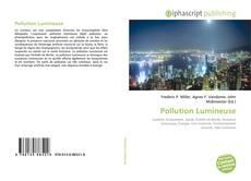 Copertina di Pollution Lumineuse