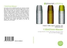 Bookcover of 7.92x57mm Mauser