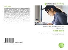 Bookcover of Chaz Bono