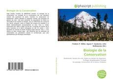 Biologie de la Conservation的封面