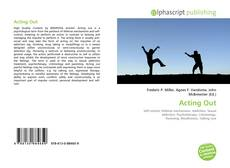 Bookcover of Acting Out