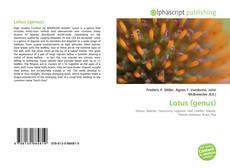 Capa do livro de Lotus (genus)