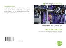 Bookcover of Deus ex machina