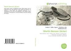 Bookcover of Martin Benson (Actor)