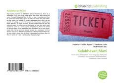 Bookcover of Kalabhavan Mani