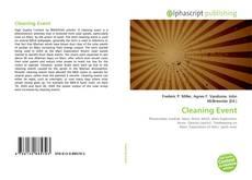 Couverture de Cleaning Event