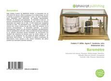 Baromètre kitap kapağı