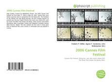 Buchcover von 2006 Cannes Film Festival