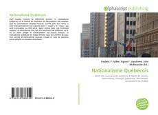 Обложка Nationalisme Québécois