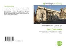 Обложка Parti Québécois