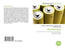 Capa do livro de Pile Electrique