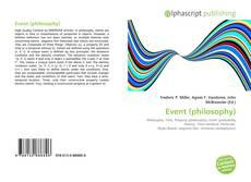 Couverture de Event (philosophy)