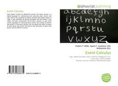 Portada del libro de Event Calculus