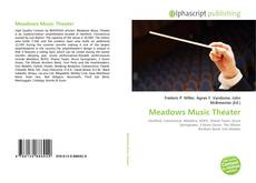 Bookcover of Meadows Music Theater