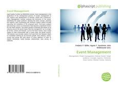 Couverture de Event Management