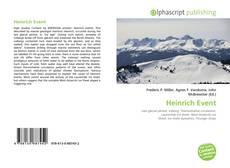Couverture de Heinrich Event