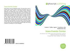Bookcover of Iowa Events Center
