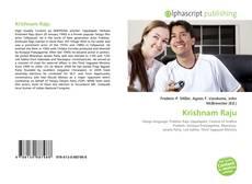 Bookcover of Krishnam Raju