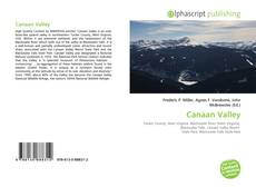 Bookcover of Canaan Valley