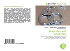 Bookcover of Dominance and submission