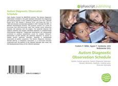 Portada del libro de Autism Diagnostic Observation Schedule