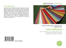 Bookcover of Color Difference