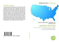 Buchcover von Jonathan Jennings