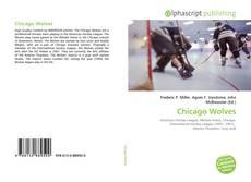 Capa do livro de Chicago Wolves