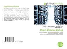 Bookcover of Direct Distance Dialing