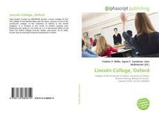 Обложка Lincoln College, Oxford