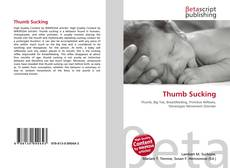 Bookcover of Thumb Sucking