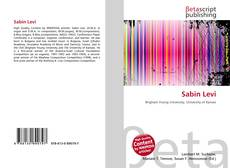 Bookcover of Sabin Levi