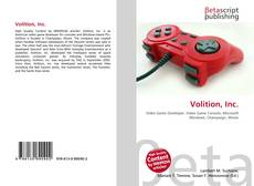 Bookcover of Volition, Inc.