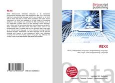 Bookcover of REXX