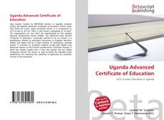 Bookcover of Uganda Advanced Certificate of Education