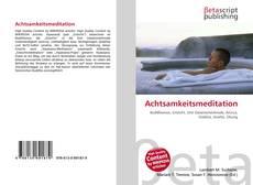Capa do livro de Achtsamkeitsmeditation