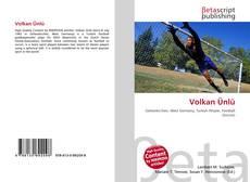Volkan Ünlü kitap kapağı