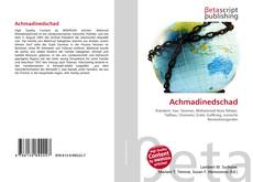 Bookcover of Achmadinedschad