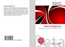 Copertina di Sabina Magliocco