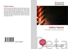 Borítókép a  Sabina Vajrača - hoz