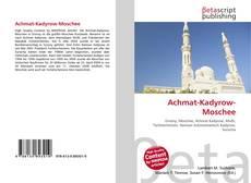 Achmat-Kadyrow-Moschee kitap kapağı