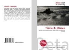 Обложка Thomas R. Morgan