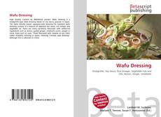 Bookcover of Wafu Dressing