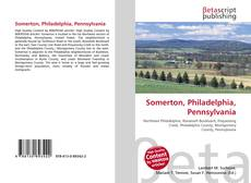 Capa do livro de Somerton, Philadelphia, Pennsylvania