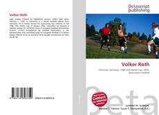 Bookcover of Volker Roth