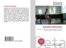 Capa do livro de Achtzehn Elemente